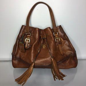96fbd4ee120bbf ... bag lady denmark prada bags prada tassel drawstring brown leather tote  644d2 8a73c ...